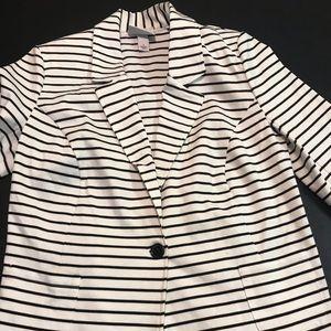 Pure Energy size X striped blazer